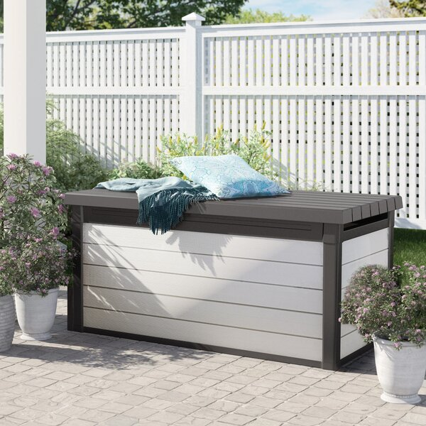 Swaffham 150 Gallon Resin Deck Box By Sol 72 Outdoor