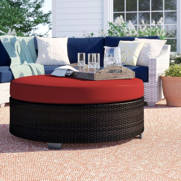 Tegan Wicker/Rattan Coffee Table by Sol 72 Outdoor