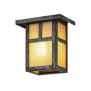 Affordable Price Alluvial 1-Light Outdoor Flush Mount By Bloomsbury Market