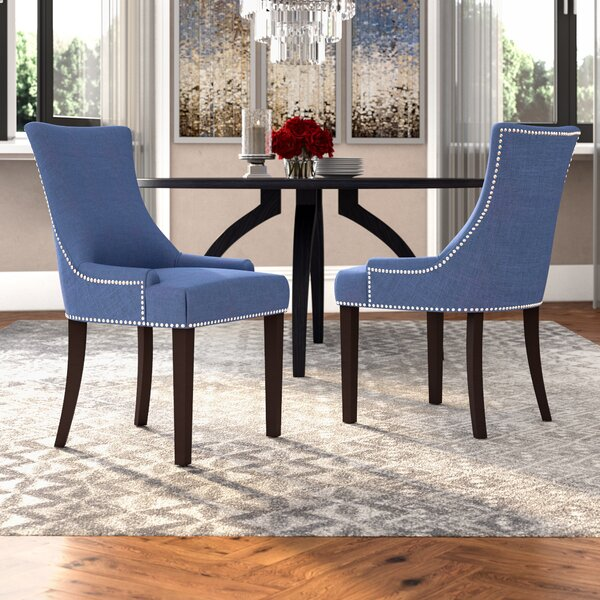 Carraway Upholstered Dining Chair (Set Of 2) By Mercer41