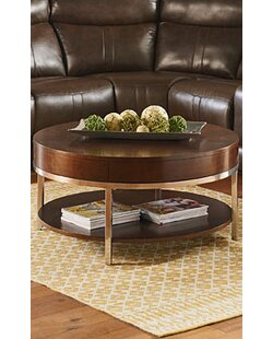 Mira Coffee Table with Magazine Rack Standard Furniture
