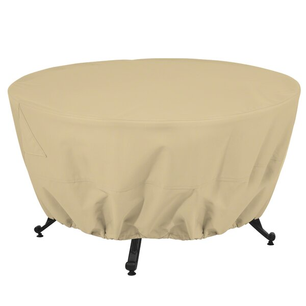 Jelani Round Patio Fire Pit Table Cover by Freeport Park