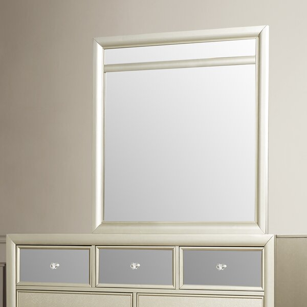Gottfried Square Dresser Mirror by Willa Arlo Interiors