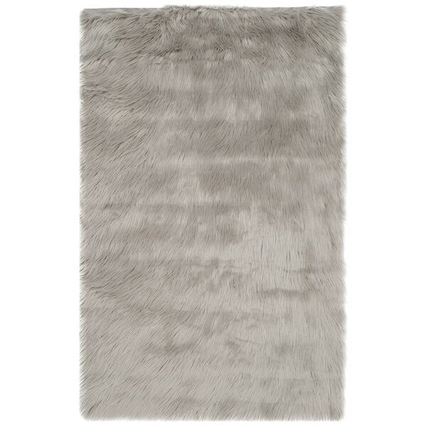 Nichols Hand-Tufted Gray Area Rug by Willa Arlo Interiors