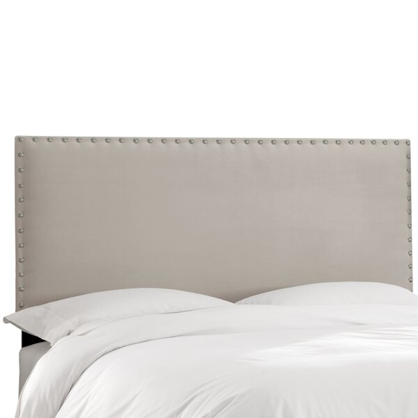 Aldan Upholstered Panel Headboard by Darby Home Co Darby Home Co