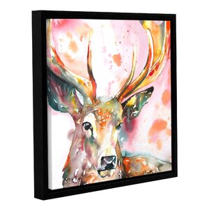 Stag II Framed Painting Print by Latitude Run