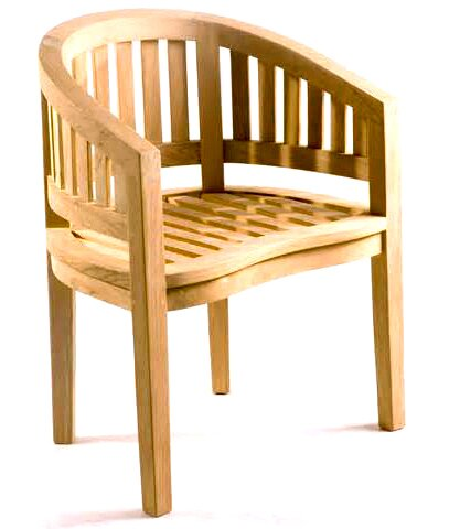 Island Teak Patio Chair by D-Art Collection