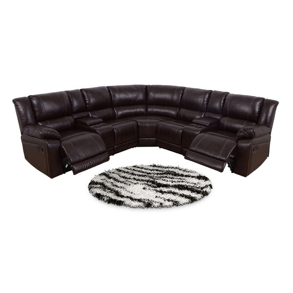Khalil Symmetrical Reclining Sectional by Red Barrel Studio