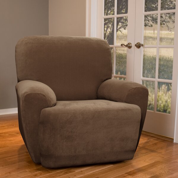 Separate Seat Recliner Slipcover by Red Barrel Studio