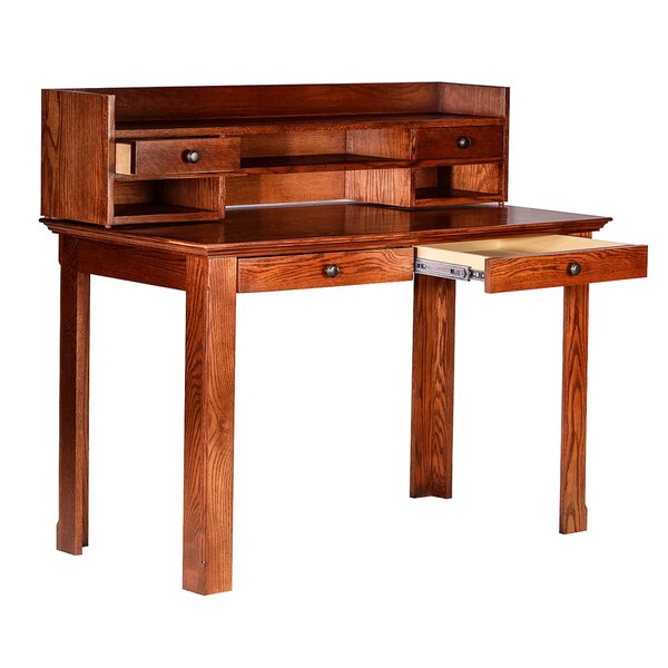 Mcdowell Writing Desk with Hutch by Loon Peak