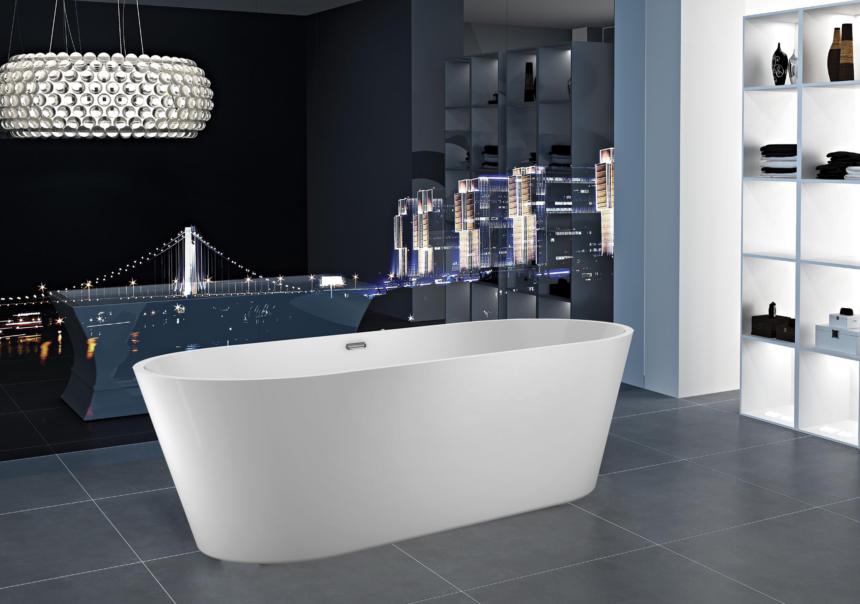 Picture of: Barclay Ogden 55 X 27 Freestanding Soaking Bathtub Wayfair
