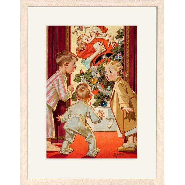 Under the Mistletoe Framed Print of Painting by Bu