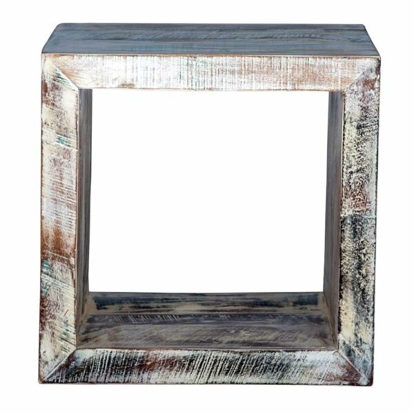 Karlstad Cube End Table by Bloomsbury Market