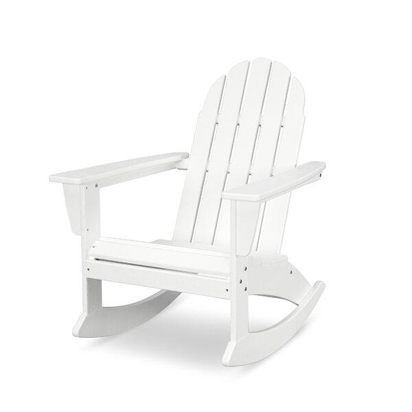 Vineyard Adirondack Rocking Chair by POLYWOOD®
