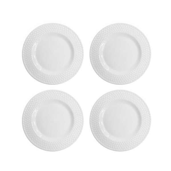 Juliette Salad Plate (Set of 4) by Elle Decor