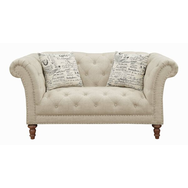 Best Design Falgout Chesterfield Loveseat by Astoria Grand by Astoria Grand