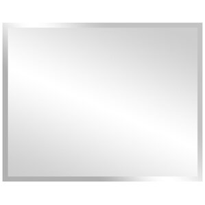 Rectangular Frameless Bathroom Vanity Wall Mirror