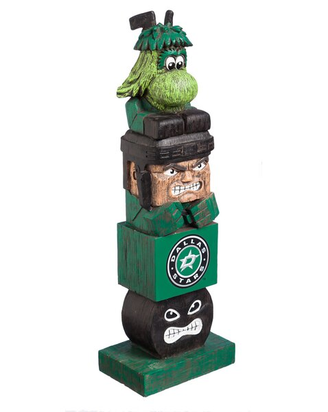 NHL Tiki Totem Statue by Evergreen Enterprises, In