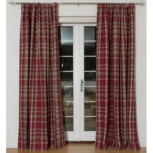 Cortland Heritage Tailored Eyelet Blackout Thermal Curtains
