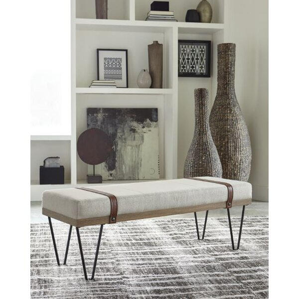 Carnahan Upholstered Bench by Williston Forge