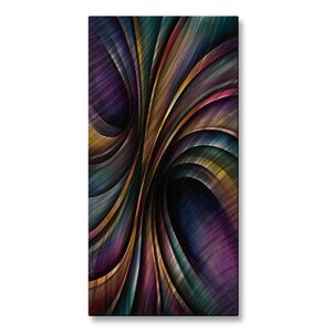 'Vivid Motion' by Michael Lang Graphic Art Plaque by All My Walls