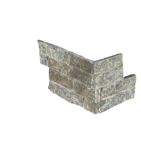 6 x 18 Quartzite Splitface Tile in Green by MSI