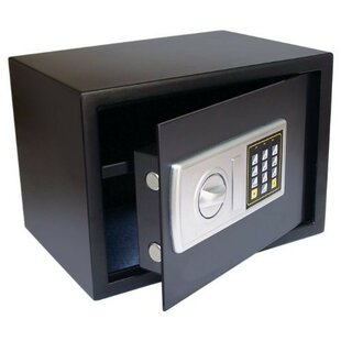 Digital Name Security Safe with Key Lock by Royal Sovereign Int'l Inc