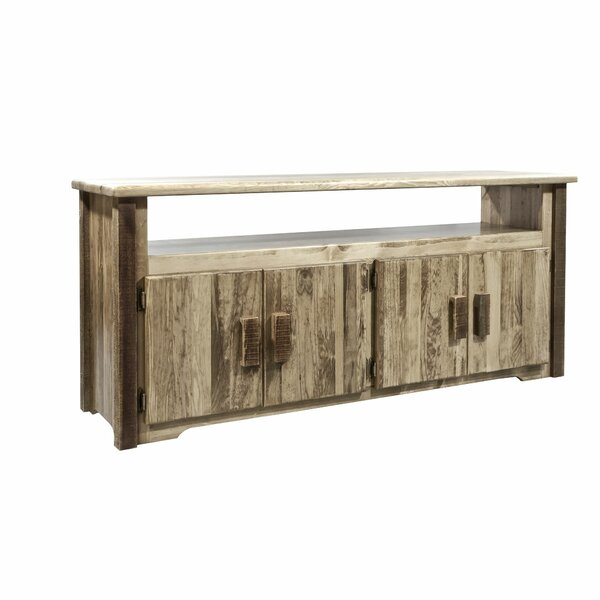 Reviews Solid Wood TV Stand for TVs up to 65 by Montana Woodworks®