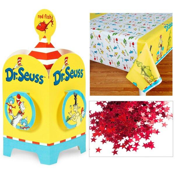 4 Piece Dr. Seuss Table Decorative Kit by NA