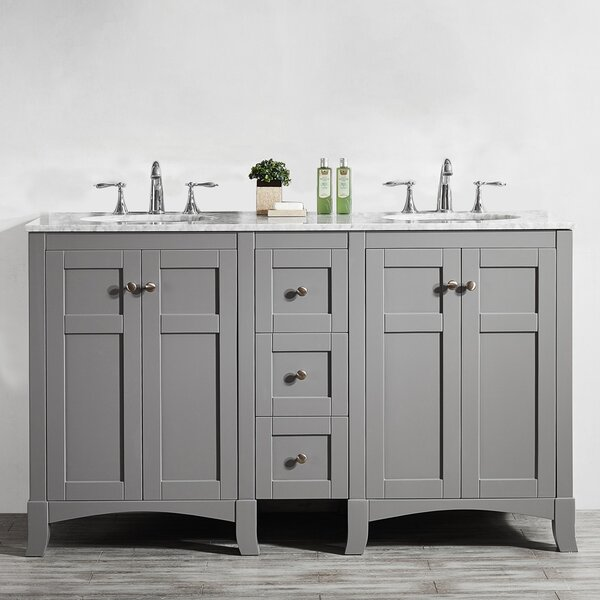 Manningtree 60 Double Vanity Set by Highland Dunes