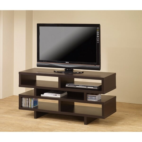 Caslin Solid Wood TV Stand For TVs Up To 55