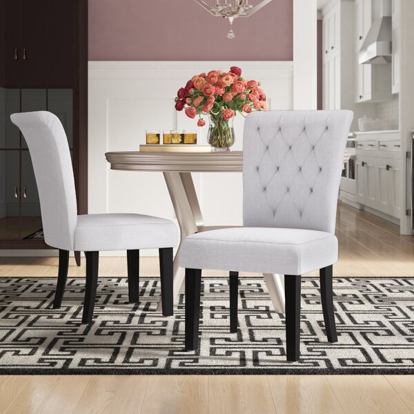 Brady Upholstered Dining Chair (Set of 2) by Willa Arlo Interiors