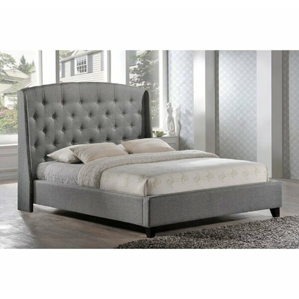 Beadnell Upholstered Wingback Headboard by Canora Grey