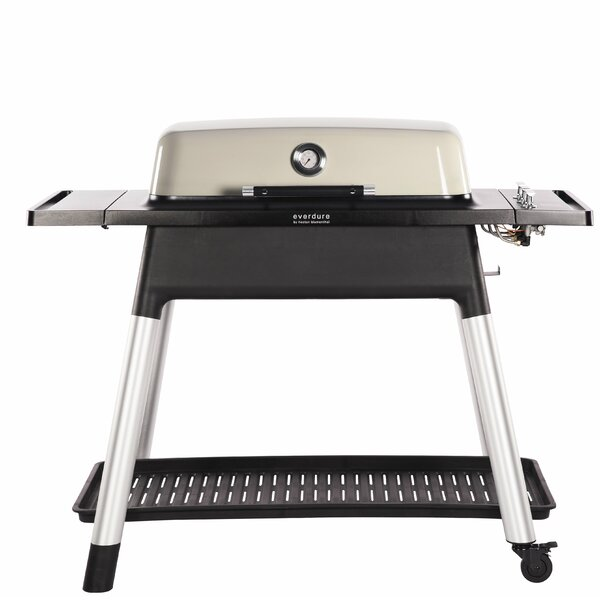 Furnace 3-Burner Liquid Propane Gas and Charcoal Grill by Everdure by Heston Blumenthal