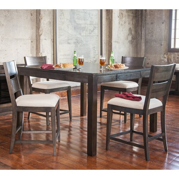 Hazelton Counter Pub Table by Gracie Oaks