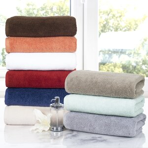 6 Piece Egyptian-Quality Cotton Towel Set