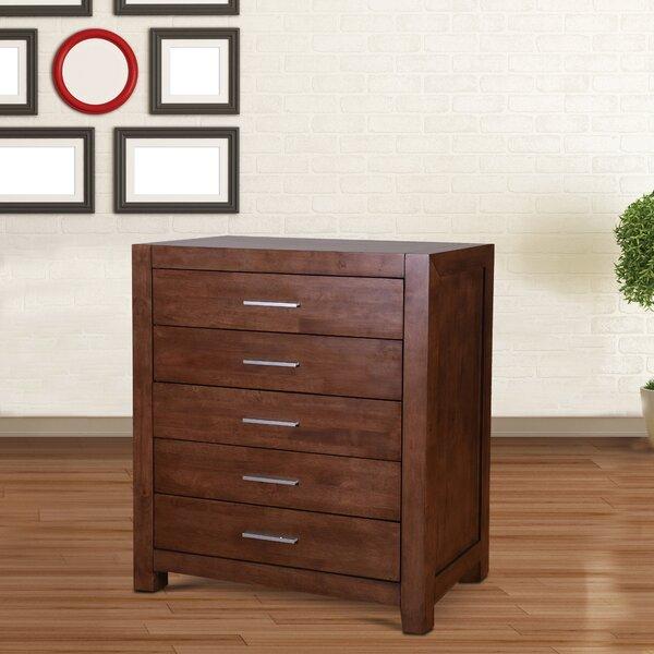 Verlin 5 Drawer Dresser by Brayden Studio