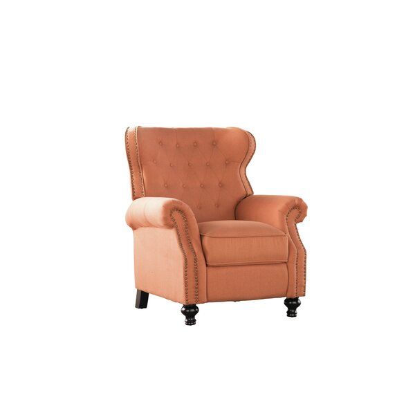 Leverette 18.50' Manual Recliner By Three Posts