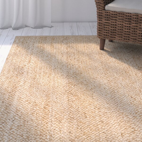 Greene Hand-Woven Natural Area Rug by Beachcrest Home