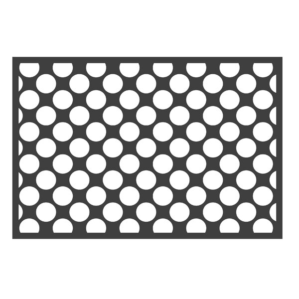 Bair Dots/Pin Black/White Area Rug by Harriet Bee