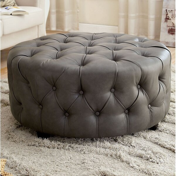 Blaire Tufted Cocktail Ottoman by Everly Quinn