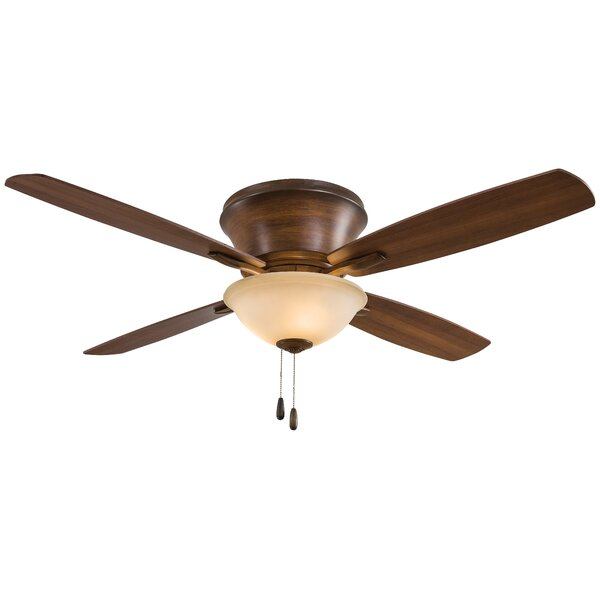 52 Mojo II Flushmount 4 Blade LED Ceiling Fan by Minka Aire