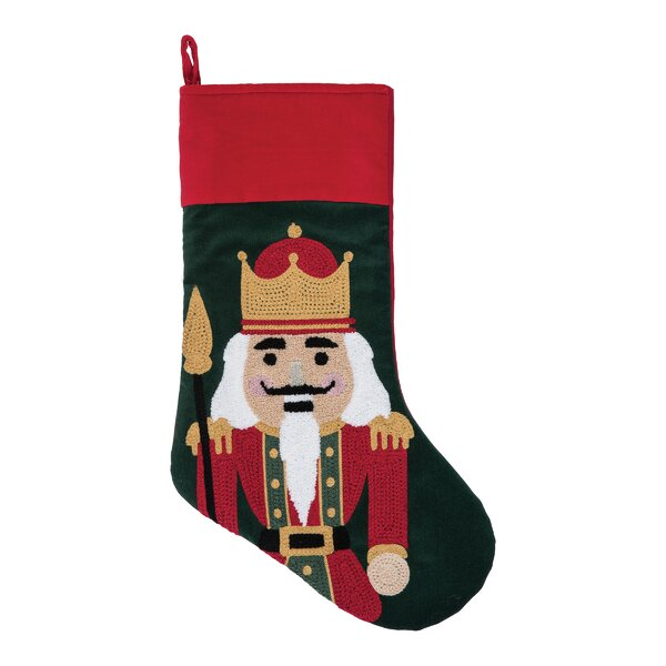 Malmberg Nutcracker King Stocking by The Holiday Aisle
