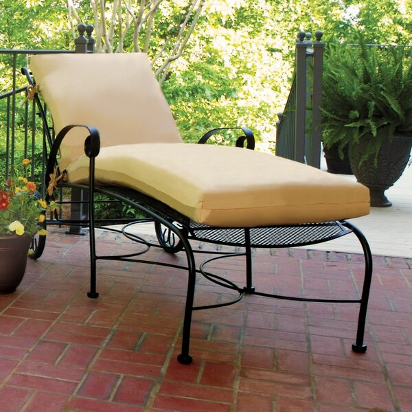 Alexandria Chaise Lounge by Meadowcraft