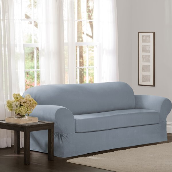 Looking for Box Cushion Sofa Slipcover (Set Of 2) By Red Barrel Studio Amazing