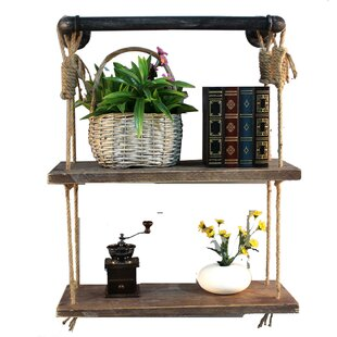 Industrial Pipe Accent Wall Shelf by Gracie Oaks