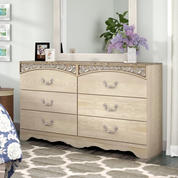 Emely 6 Drawer Double Dresser by Ophelia & Co.