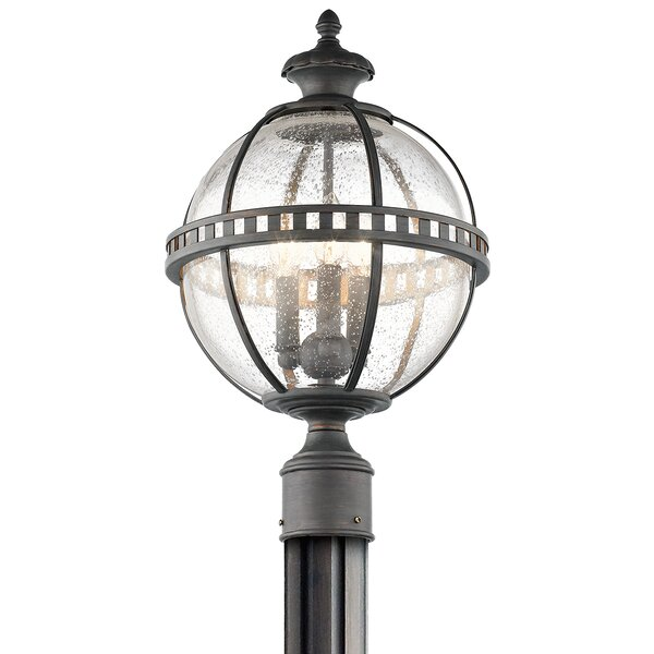 Churchton Outdoor 3-Light Lantern Head by Gracie Oaks