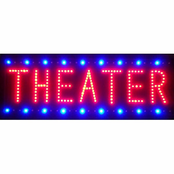 Business Signs Theater LED Sign by Neonetics
