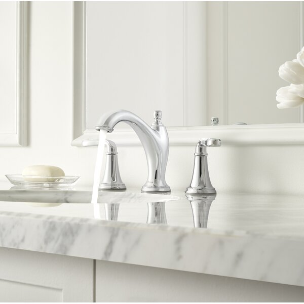 Northcott Widespread Double Handle Deck Mount Bath Faucet by Pfister